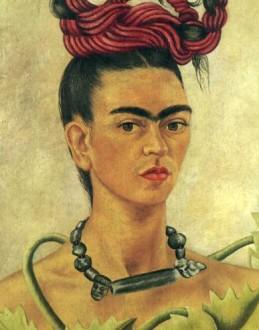 Frida Kahlo inspiration ~ ispirazione per collana lapislazzuli