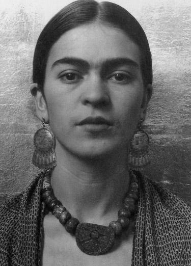 Frida Kahlo - inspiration for necklace
